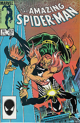 AMAZING SPIDERMAN 257...NM-...1984...Second Appearance of Puma...Bargain!