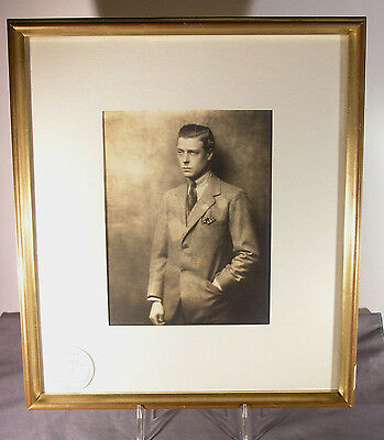 Vintage Photo Edward VIII Duke of Windsor by Hugh Cecil Sotheby's 1997 Auction