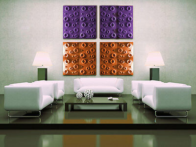 3D WALL CEILING PANELS POLYSTYRENE TILES (Pack of 60) 15 Sqm - CRATERS 3D