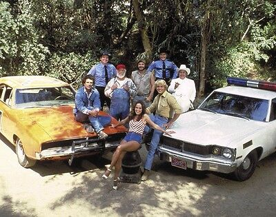 The Dukes Of Hazzard Original Whole Cast Tv Series Bach 8X10 Photo Picture