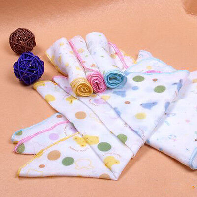 Safety 3Pcs/Set Baby Cotton Baby Infants Gauze Nursing Handkerchief Small Towel