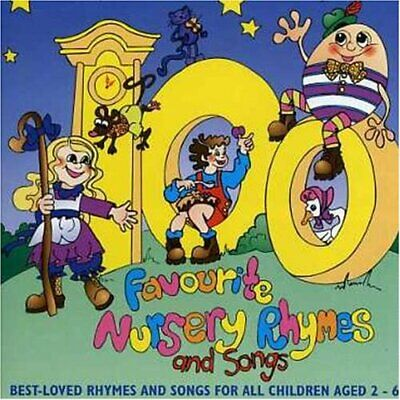 Various Artists : 100 Favourite Nursery.. CD Incredible Value and Free Shipping!