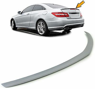 Mercedes E Coupe C207 Cabrio A207 ab 10  AMG LOOK HECK SPOILER LIPPE
