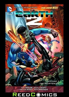 EARTH 2 VOLUME 5 THE KRYPTONIAN GRAPHIC NOVEL New Paperback Collects #21-26