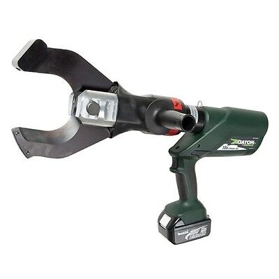 New Greenlee ESC105L11 gator battery operated cable cutter w/batteries/charger
