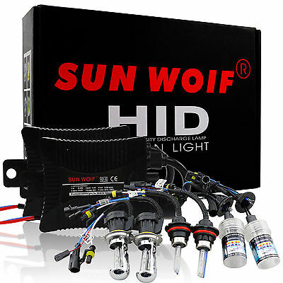 35/55W Xenon Hi/Lo HID Conversion Kits Headlight Slim Ballast H1 H4 H7 H11 9007