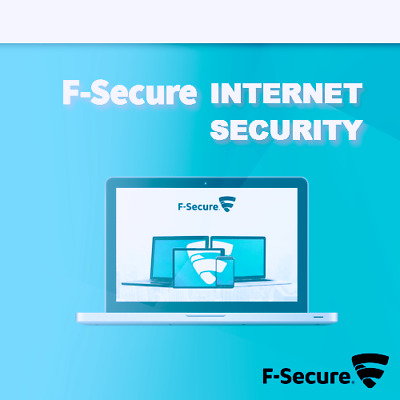 F-Secure Internet Security 2019 1 PC 1 Device 1 Year License PC 2018 UK