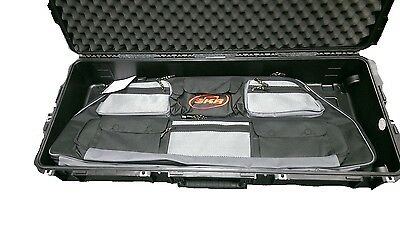 SKB Dual Parallel Bow travel case. Hard / soft case combo. Hoyt, Elite, Mathews