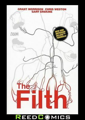 FILTH DELUXE EDITION HARDCOVER Harback Collects 13 Part Series by Grant Morrison