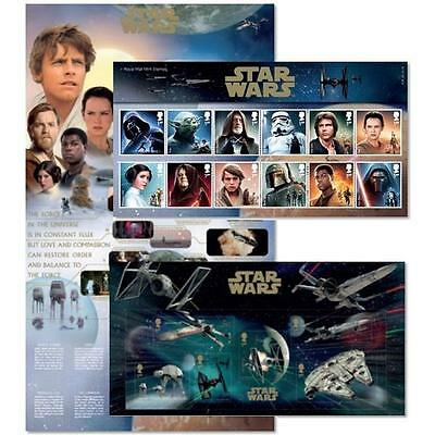 Star Wars Stamp Collection Presentation Pack - Royal Mail