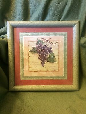 Retired Fruit Pictures By Home Interior Set Of 3