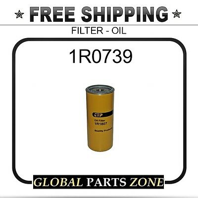 1R0739 - ONE (1) BRAND NEW AFTERMARKET OIL FILTER fits Caterpillar (CAT)