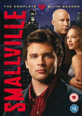 Smallville: The Complete Sixth Season DVD (2007) Tom Welling