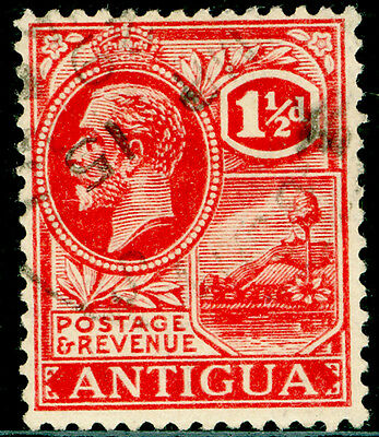 Sg68, 1½d carmine-red, FINE used, CDS.