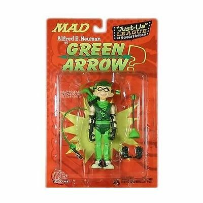 """DC Direct MAD Mag Series 1 Alfred Neuman Green Arrow Just Us League 6"""" Figure 01"""
