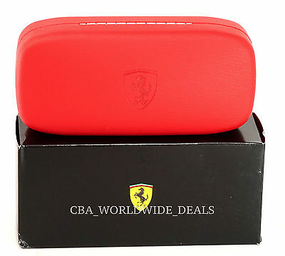 NEW Authentic Oakley Official Ferrari Red Sunglasses Case - IN BOX