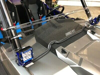 "2015/16/17  Polaris Razor, Rzr 900 3/16"" Polycarbonate Half Windshield, Clear"
