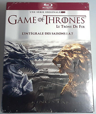 GAME OF THRONES SEASONS 1-7 on BLU-RAY New Region-Free FRENCH IMPORT 2 3 4 5 6