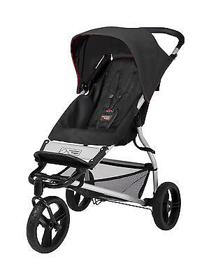 Mountain Buggy Evolution Mini Single Stroller in Black Brand New!!