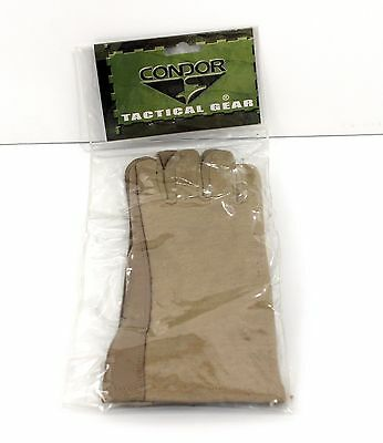 New Condor 207-003 Fire Resistant Nomex Tactical Aviator Flight Gloves Tan X-Lg