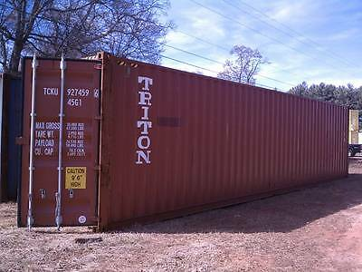 wind and water tight shipping cargo containers 40' and 20' Charleston SC