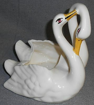 Camark #521 DOUBLE SWAN PLANTER Great Design!