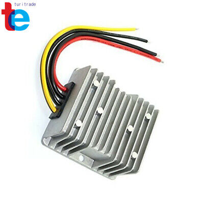 Waterproof DC/DC Car Voltage Converter 12V Step Up to 24V 10A 240W Power Supply