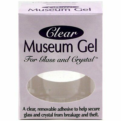 Ready America 33111 Museum Gel, Clear by Quakehold! Clear adhesive gel