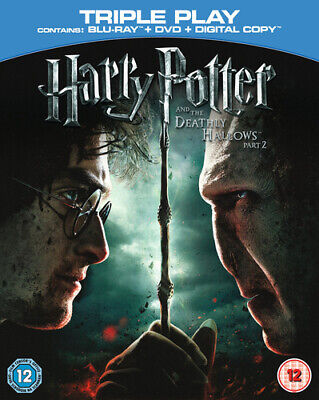 Harry Potter and the Deathly Hallows: Part 2 Blu-ray (2011) Daniel Radcliffe