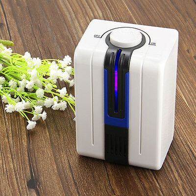 LED Air Purifier Cleaner Black Smoke Ionic Ionizer Negative Fresh Office Room