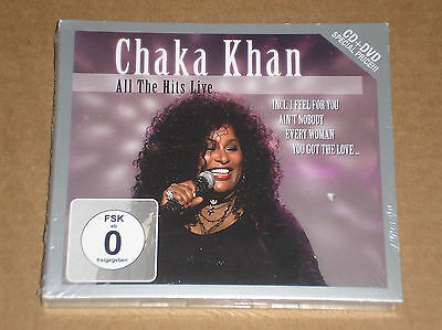 Chaka Khan - All The Hits Live - Cd + Dvd Sigillato (Sealed)