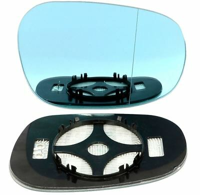 Right Driver blue Wide Angle Wing mirror glass for BMW 3 Series 08-12 heat
