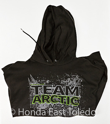 Arctic Cat 2X-Large Black Team Arctic Squares Hoodie 5269-668