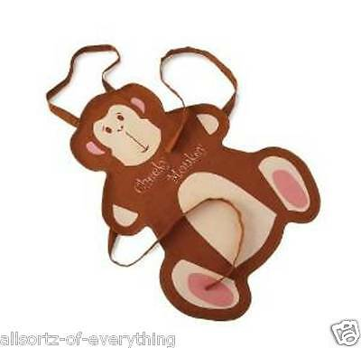 """Kids """"Cheeky Monkey"""" 100% Cotton Apron Cooking Arts Crafts"""
