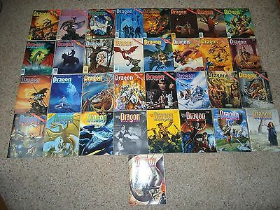 Dragon Magazine lot / collection of 33 issues 157-189