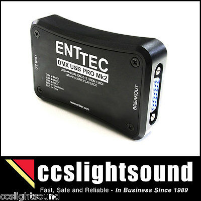 Enttec Dmx Usb Pro Mk2 Two-Universe Usb/dmx Interface