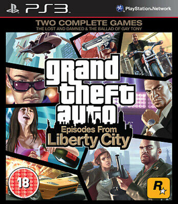 Grand Theft Auto: Episodes from Liberty City (PS3) VideoGames