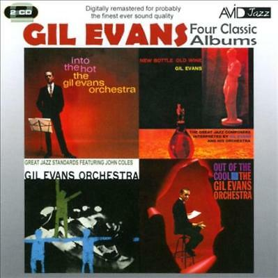 Gil Evans - Four Classic Albums: New Bottle, Old Wine/Great Jazz Standards/Out O