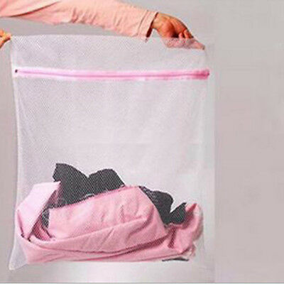 Zippered Net Mesh Laundry Wash Bags for Delicates Lingerie Underwear Clothes BOS