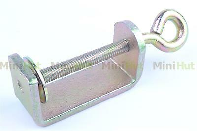 2x Table Clamp For Brother Singer Silver Knitting Machine Accessories