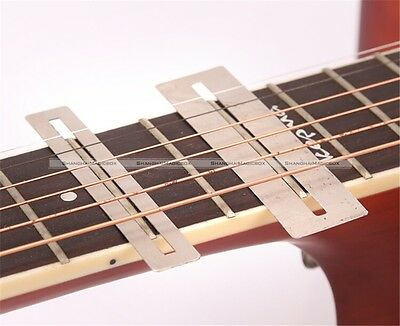 Set of 2 Guitar Fretboard Protectors Fret Guard Bass Luthier Fingerboard Tool S8