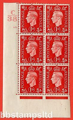 SG. 463. Q4. 1d Scarlet. A very fine lightly mounted mint. Control C38.
