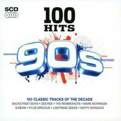 Various Artists : 100 Hits: 90s CD 5 discs (2007) Expertly Refurbished Product