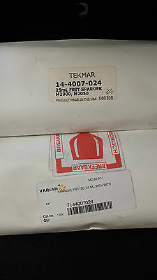 NEW Tekmar 14-4007-024 25mL Frit  Sparger/Purge Sampler Fedex Shipping