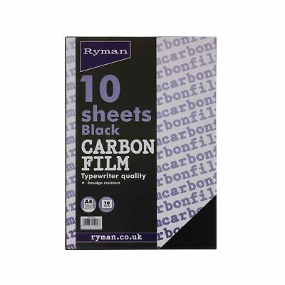 Ryman Carbon Film Typing A4 10 Sheets