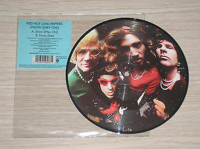 """Red Hot Chili Peppers - Snow (Hey Oh) / Funny Face - 45 Giri 7"""" Picture Disc"""