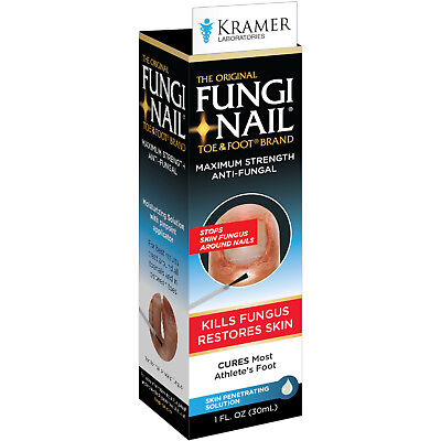 Fungi Nail Toe & Foot Maximum Strength Anti Fungal Solution - 1 oz