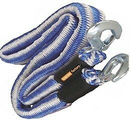 2000Kg Tow Rope Elasticated Stretch Breakdown Recovery Car Van 4X4 Space Saver