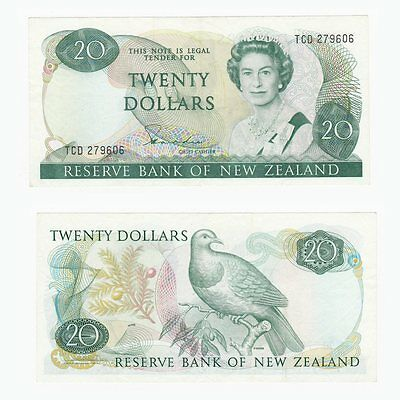NEW ZEALAND - $20 Dollars Banknote - P.173a