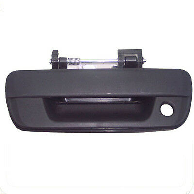 New Outside Black, Textured Tailgate Tail Gate Door Handle
